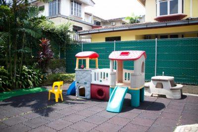 保育園の園庭