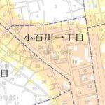 ハザードマップ 文京区立柳町小学校
