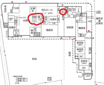 平面図_明化小改築エレベーター